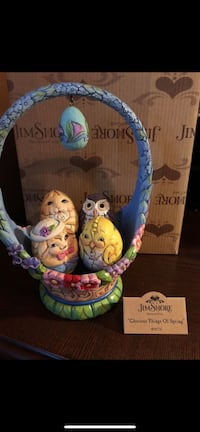 """Jim Shore """"Glorious Things of Spring"""" Set of 5 -10th annual Easter basket NEW Virginia Beach, 23464"""