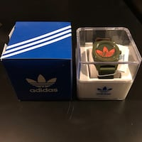 Adidas Originals Santiago Watch BNIB with Tags (olive green/orange - unisex) Toronto, M8V 0E6