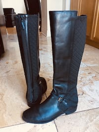 Women's black leather Cole Haan boots Size 8.5 Toronto, M8V 4G1