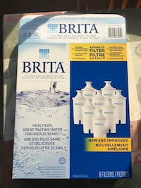 6 New Brita Pitcher Replacement Filters Mississauga, L5M 6W6