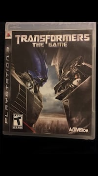 PS3 TRANSFORMERS THE GAME $7 Chandler, 85224
