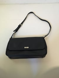 black and gray leather crossbody bag Mishawaka, 46544