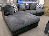 brand new Ashley furniture smoke color sectional e College Park