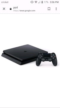 black Sony PS4 console with controller Bethel, 45106