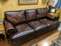 Brown leather couch Farmingdale, 11735