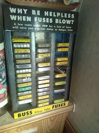 Buss glass tube Fuses rack Paso Robles, 93446