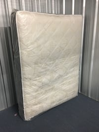 White and gray floral mattress Chicago, 60707