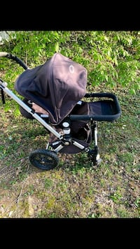 excellent condition Bugaboo Frog jogging and pushing stroller $150 Rockville, 20851