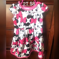Minnie Mouse 2T dress Bryan, 77803