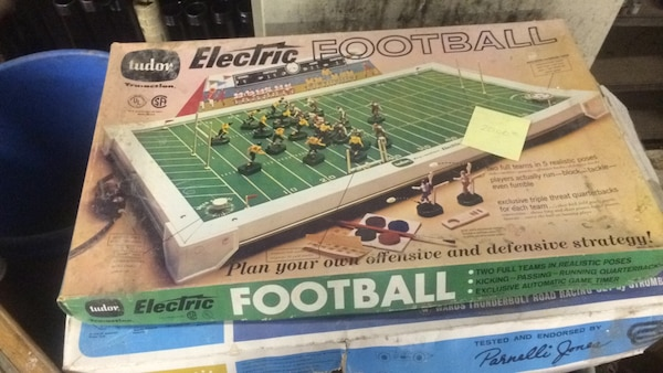 Tudor electric football. Works & complete