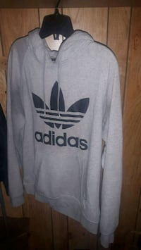 mens grey adidas hoodie (medium) Ottawa, K1Z 8L3