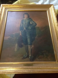 Brown framed painting of man North Chesterfield, 23235