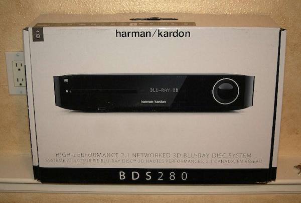 Harman Kardon Bds 280.New Harman Kardon Bds 280 2 1 Ch Blu Ray 3d
