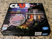 Clue Mystery board game Potomac, 20854