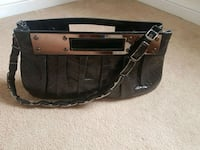 black and brown leather handbag Brampton, L7A 0R8