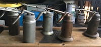 Vintage Oil Can Dispensers Corona