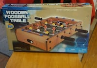 Table top foosball, brand new, never played with Earleville, 21919