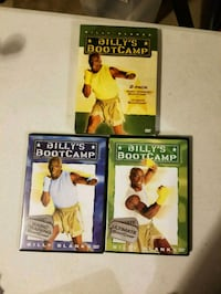 Billy's Bootcamp 2 Exercise DVDs Hobbs, 88240