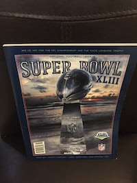 XLIII Super Bowl Official game program. Steelers vs Arizona.     Hummelstown, 17036