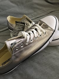 Conver All Star Metallic Silver Ventura, 93001