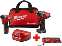 Milwuakee brushless 12 volt FUEL 3 Set Combo West Kelowna, V4T 1X7