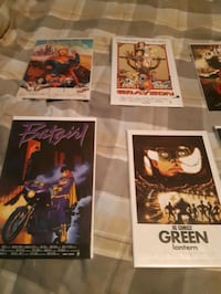 Movie poster comic books Brampton, L6P 0W4