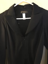 VERSACE LITTLE BLACK DRESS,  size 8, purchased in Italy.  Gorgeous.   Edmonton, T5W 3N7