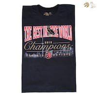 "OVO x Raptors ""The Best in the World"" 2019 Champions Tee"