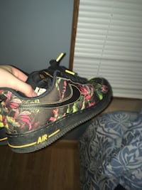 Floral Air Force 1s