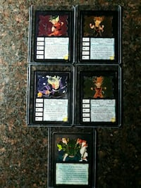 DRAGON BALL Z CARDS