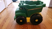 Green and Black John Deere tractor 23 km