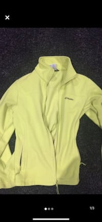 Women's medium Columbia fleece jacket London, N6B
