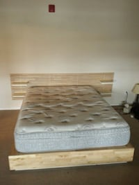 white and gray bed mattress Denver, 80203