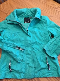 teal zip-up hoodie Brantford, N3R 2S1