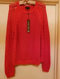 New! Knit Orange Sweater