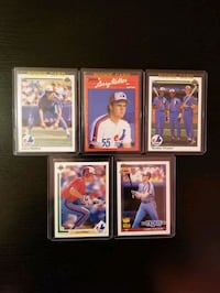 Mint Larry Walker Rookie Lot - Free Shipping  Toronto, M6C 2L3