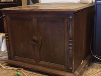 Old vintage Wooden Cabinet/Stand - Available  Barrie, L4N 7N1
