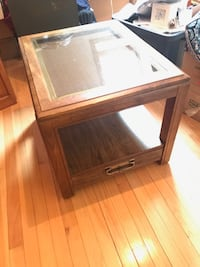 Glass top end table Danville, 05828