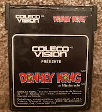 Colecovision Donkey Kong   tested and in working order  (ref # Bx apps1) Newmarket