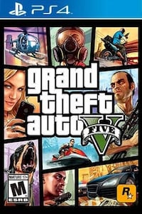 Grand theft auto five game poster South Bend, 46619