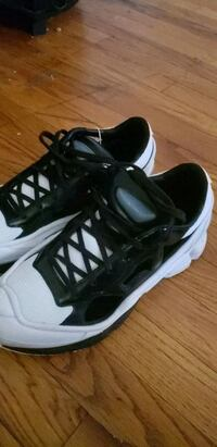 black-and-white Osweego Raf Simons shoes