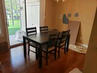 6 Dining chairs TABLE NOT INCLUDED Alexandria, 22315
