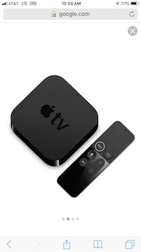 black Apple TV with remote National City, 91950