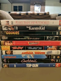 Classic 1980s movies dvds  Johnstown, 15905