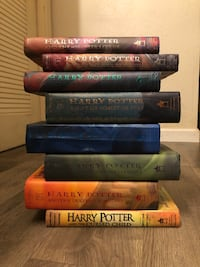 Harry Potter Complete Hardcover Set. Books 1-8. VERY NICE CONDITION! Carmichael, 95608