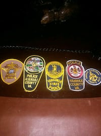 Police badges  Fairfax, 22030