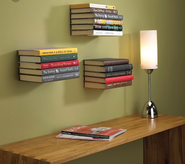 Umbra invisible book shelf
