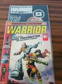 Warrior Comics first 18 issues Toronto, M2M 3Z9