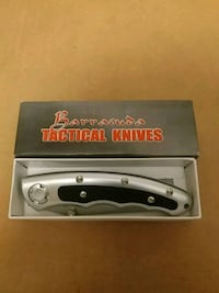 black and gray pocket knife with box Pensacola, 32506