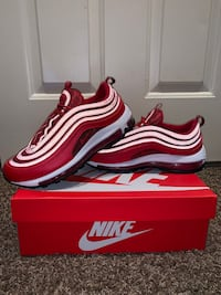 Nike Air Max 97 Women's size 9 (GYM RED/BLACK)